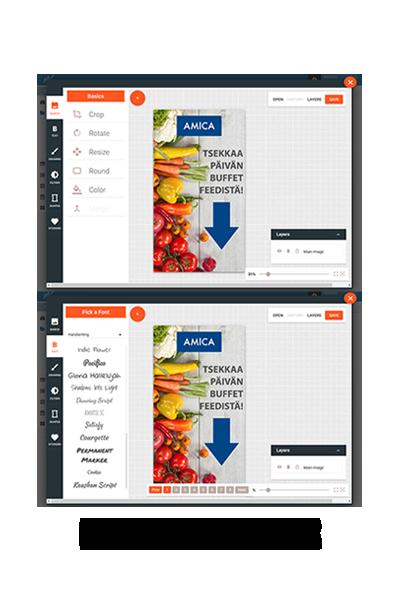 Hi! Digital Signage – The cloud-based digital signage platform